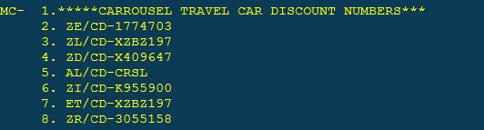 Car Discount Codes