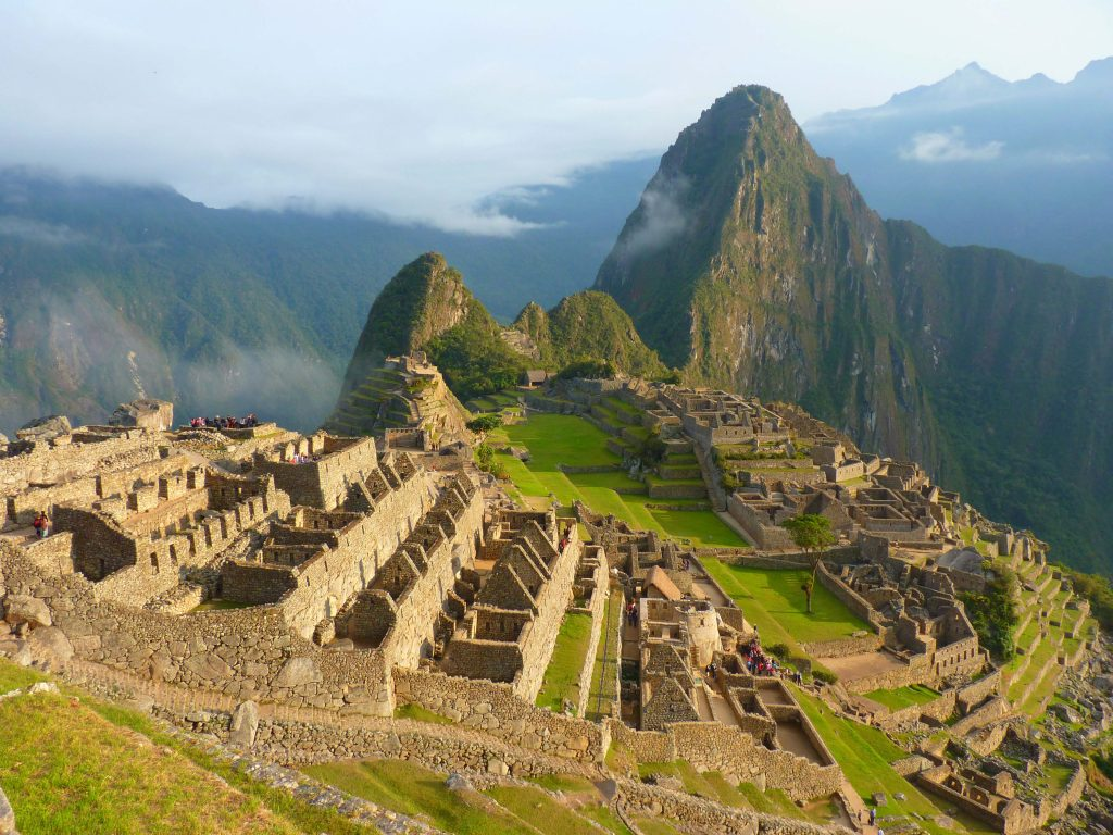 <p class=blog-cap>PERU // Peru offers incredible Inca history, and topping many a bucket list, the ancient city of Machu Picchu is the most visited tourist attraction in South America and can be reached via hiking trails or a lofty railway line.</p>